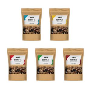 5 granolas mini