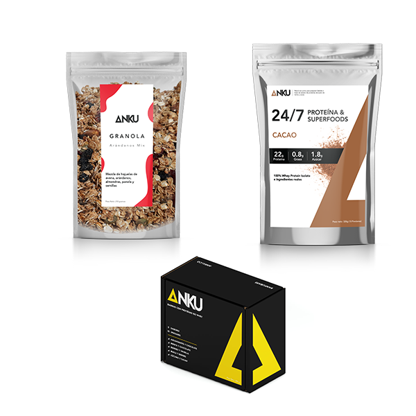 caja surtida proteína 24 7 granola