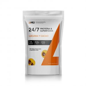 proteína iso whey 24 7 lúcuma y cacao perú anku