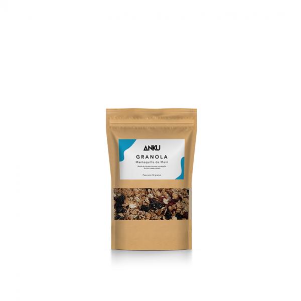 mantequilla de maní mini granola y muesli perú anku